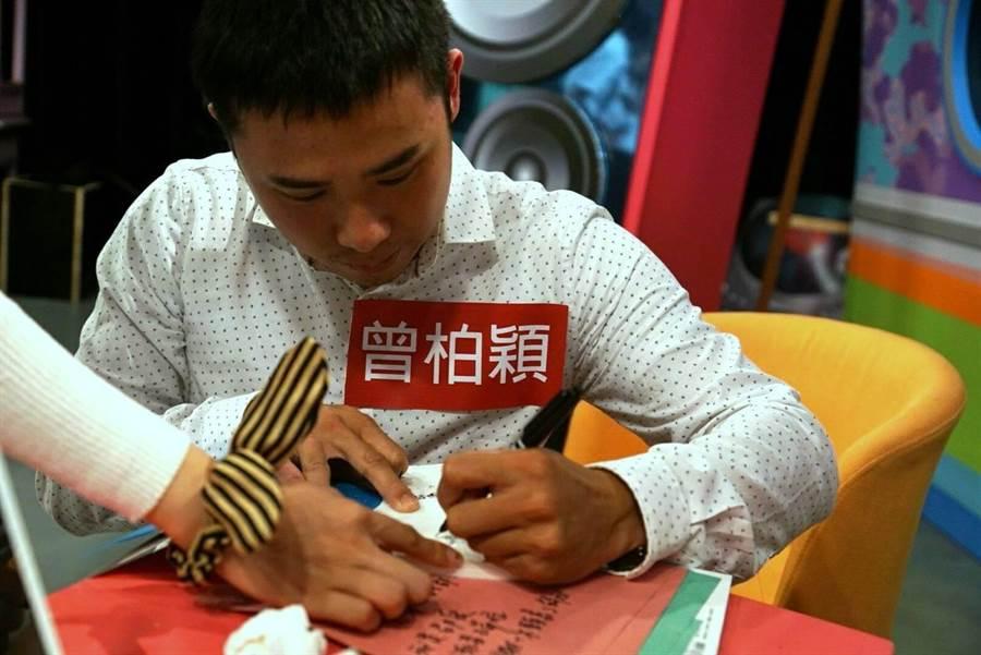 曾柏颖即将远赴美国进修,完成留学梦想。(图/王思博摄)