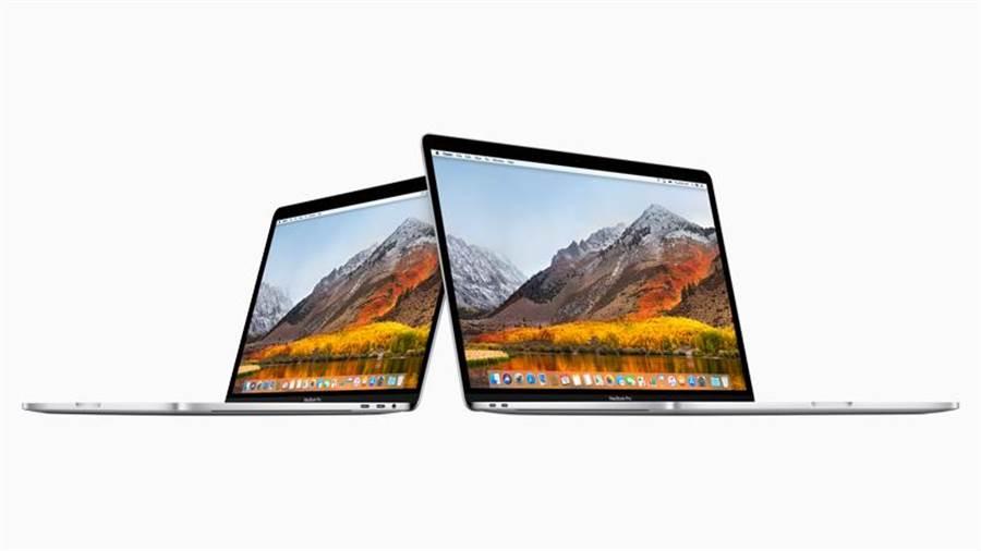全新 13 吋与 15 吋 MacBook Pro 具备触控列的机型,可为专业使用者提供更强大的功能。(图/翻摄苹果官网)