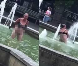 大媽跳池「水柱裸沖鮑魚」男子嚇到險吐出來