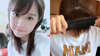 邵雨薇公開私下整理頭髮祕密!3步驟完成少女系「圓式瀏海」