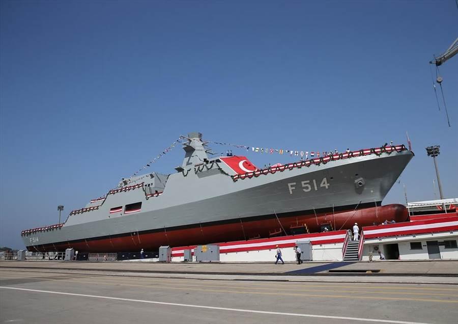 土耳其將向巴基斯坦海軍出售4艘「島嶼級」巡邏艦,這項合約價值高達50億美元,成為土耳其史上單一出口價值最高的軍售案。(圖/推特)