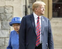 影》太隨便!川普任性 英女王超無奈