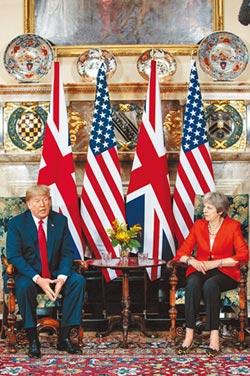 川普批脫歐 扼殺英美貿易
