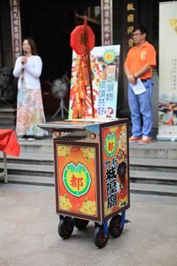 環境教育中心與新竹都城隍廟推動鞭炮減燃