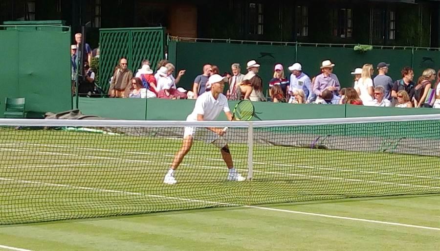 台灣青少年網球好手曾俊欣,成為我國第一位拿下溫網青少年男單冠軍的好手。(資料照/曾育德提供)