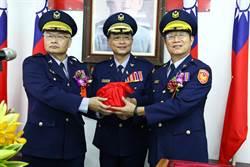 前後任警分局長同升副局長 台南六分局六六大順