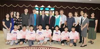 台中學子勇奪FIRST機器人世界賽2大獎 林佳龍頒獎表揚