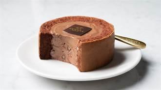內餡多到爆漿!「GODIVA黑巧克力慕絲蛋糕」小7就買得到