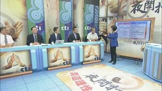 夜問打權》谷辣斯曾說「光復節是痛苦開始」 現在怎接中華民國政院發言人?
