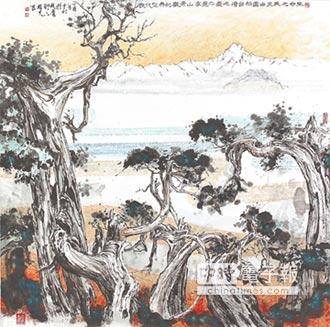 年過七旬 黃哲夫遊心入畫