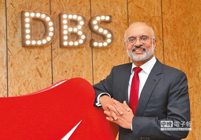 星展集團執行總裁高博德表示,20年後多數傳統銀行將消失,整個銀行產業大洗牌,銀行必須加快數位化腳步。(趙雙傑攝)