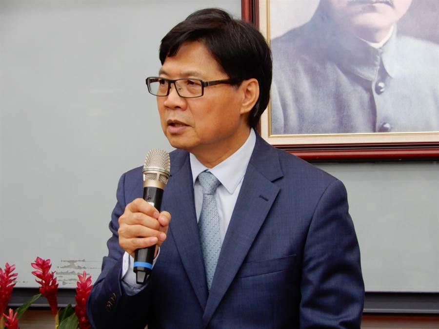 教育部長葉俊榮表示,未來一、兩個月是處理「管案」的黃金期。(林志成攝)