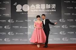 陳竹昇、蔡燦得默契佳   主持人籲觀眾熱情支持電影