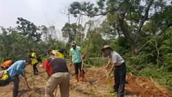 百年保安林植樹 上百人植下700株苗木