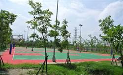 立委邱志偉爭取的「南科高雄園區公2運動公園」即將完工啟用