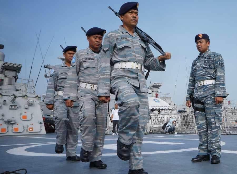 印尼海軍士兵。(圖/Shutterstock)