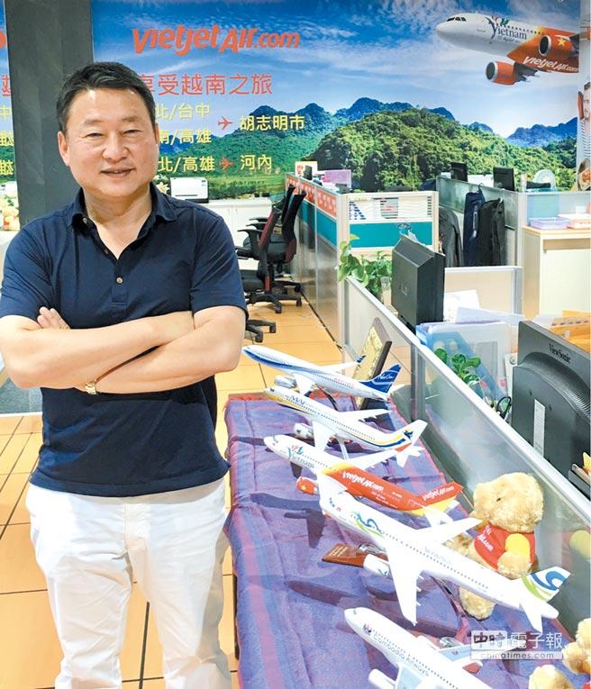 金遠東國際旅行社董事長陶世龍。圖/黃馨穎