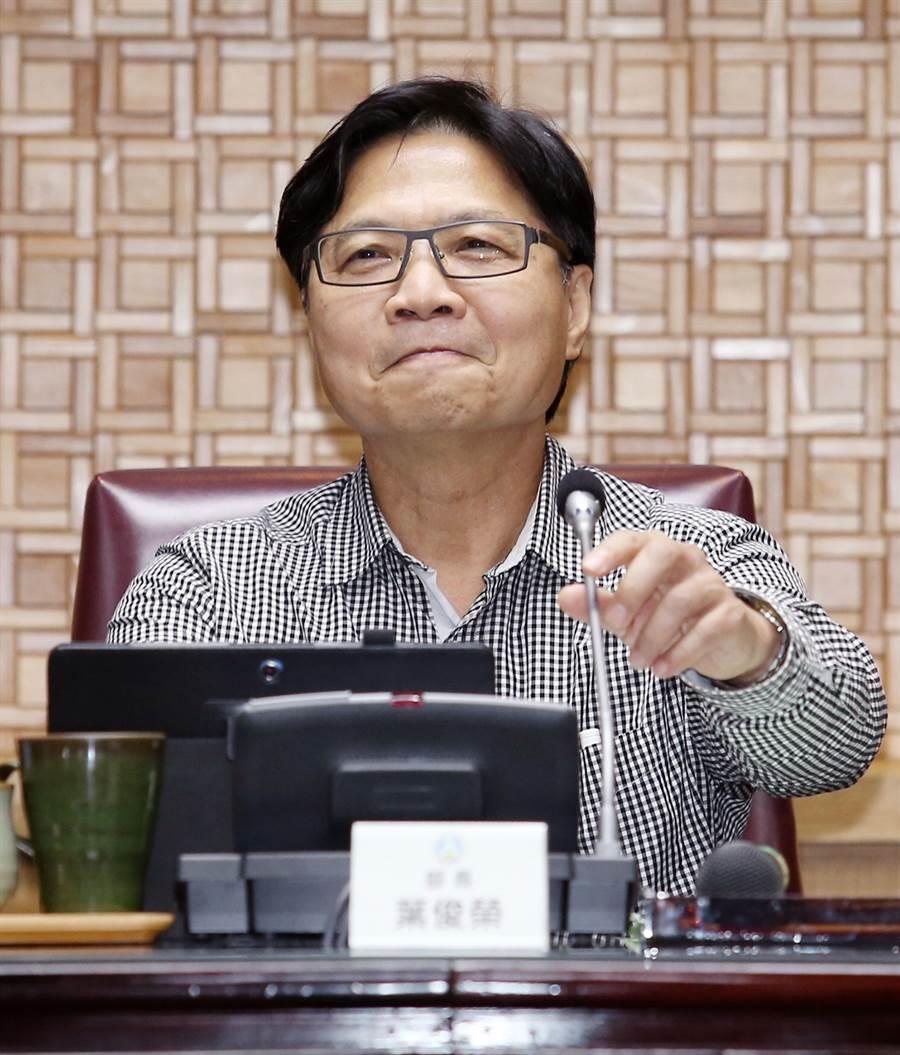 新科教育部長葉俊榮。(中時資料照)