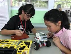 小老師偏鄉機器人教學超夯  暑期暴增到16場