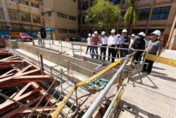 基隆信義國小改建進度超前 2021年完工