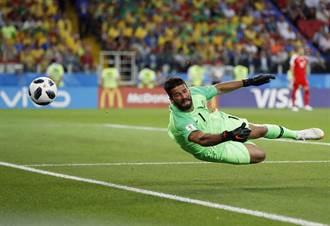 足球》巴西一號門將 轉會費創世界紀錄