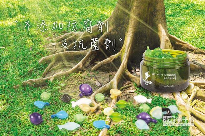 睿驊生技的植物膠囊採純天然植物成分,不添加防腐劑及抗菌劑,具台灣及多國專利,今年獲得第15屆國家品牌玉山獎殊榮,獲國際認可。圖/業者提供