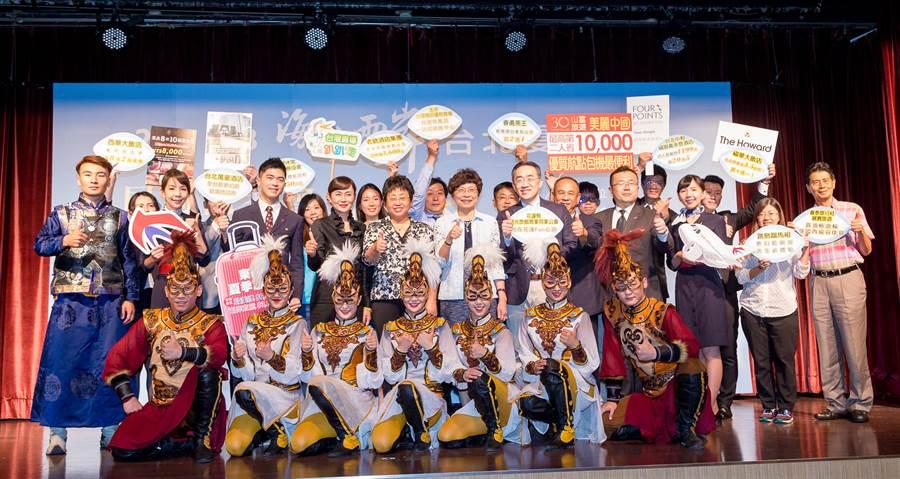 「2018海峽兩岸台北夏季旅展」自明天起一連四天在世貿舉行。(台灣旅遊交流協會提供)