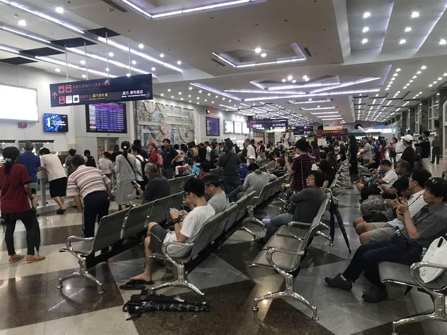 高雄小港機場。(示意圖/報系資料照)