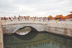 百年排水設施發威 京故宮不積水