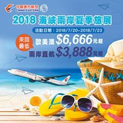 兩岸旅展-直航10周年 東航推優惠票
