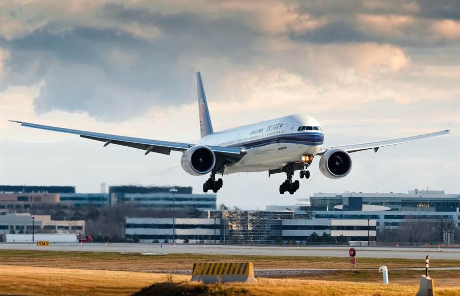 南方航空的777-300ER客機。