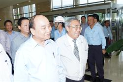 越南總理訪視台塑河靜鋼鐵廠 總裁王文淵親自接待