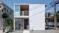 好想住在這!能夠眺望富士山的純白住宅