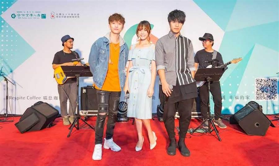 「守護不孤單演唱會-台北場」 。( CHOCO TV提供)