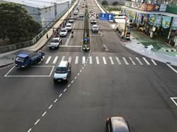中市虹揚橋調撥車流 1小時紓解千部以上車輛