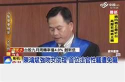 性騷法官「出招」聲請審判長迴避   遭打臉駁回