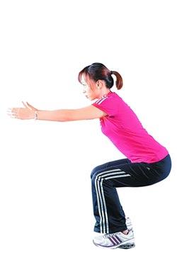 保護心臟 下蹲促進血液循環