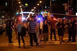 直擊》加拿大餐館外濫射 2死12傷 槍手死亡