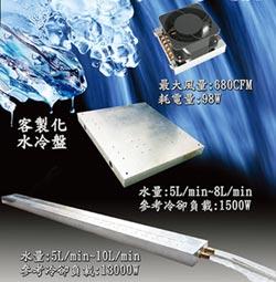 宏山水冷盤 儀器設備冷卻利器