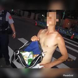 男子先砸車再偷超商 警網手到擒來