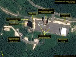 衛星圖像顯示北韓正拆除彈道導彈試射場