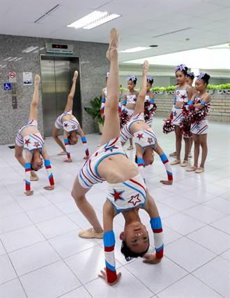 高雄市五福國小「第五屆亞洲青少年啦啦隊錦標賽」奪冠
