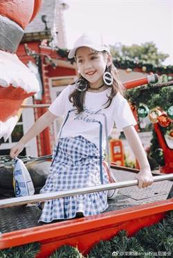 迷你版迪麗熱巴童裝小模特 陸二胎效益帶動服裝產業