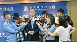 台經院3度上調2018年台灣GDP年增率
