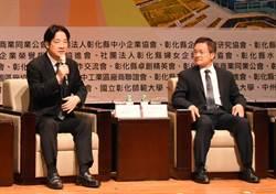 王惠美諷彰化鐵路高架化延宕、賴揆稱魏明谷綠巨人