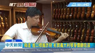 內行聽音色外行看外觀 小提琴因「標籤」價差30倍