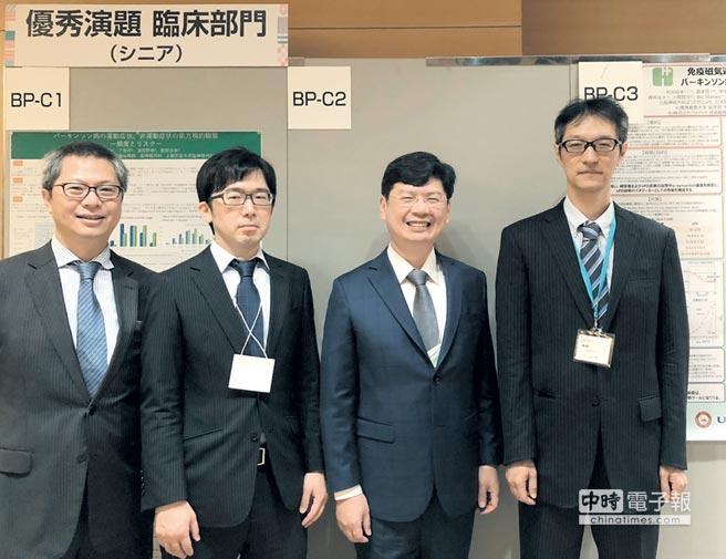 磁量生技總經理楊謝樂(右二)攜手日本醫學界的專家團隊,共同致力讓全球巴金森氏症患者受惠。圖/業者提供