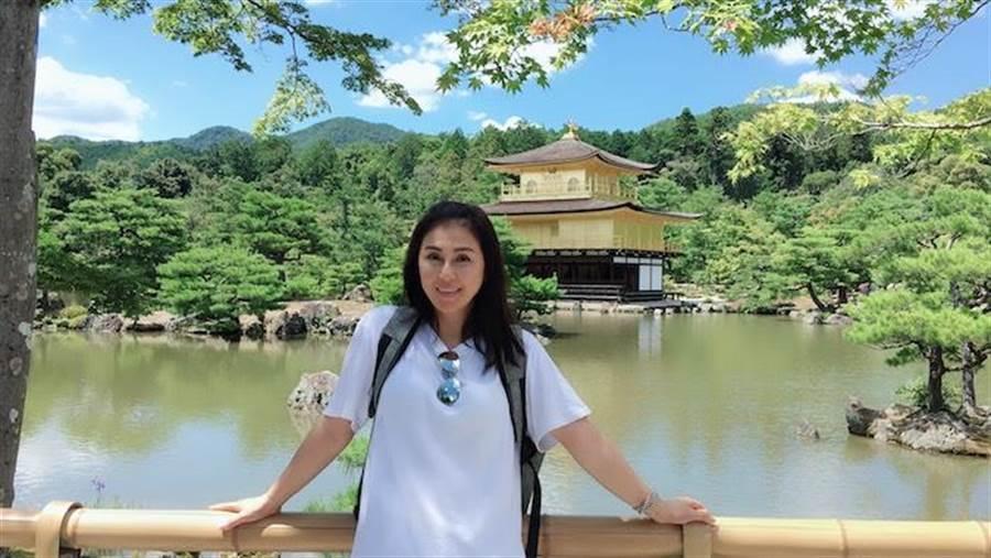 梁佑南正在日本。(民視提供)