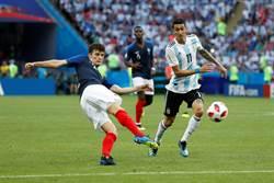 影》法國這顆進球 獲選本屆世足最佳