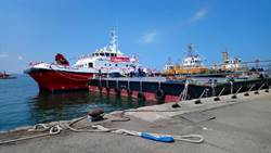 雙港攜手 台灣第一艘國產風電運維船啟用